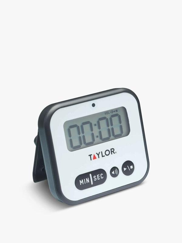 Taylor Pro Super Loud Digital Timer with Light Alert