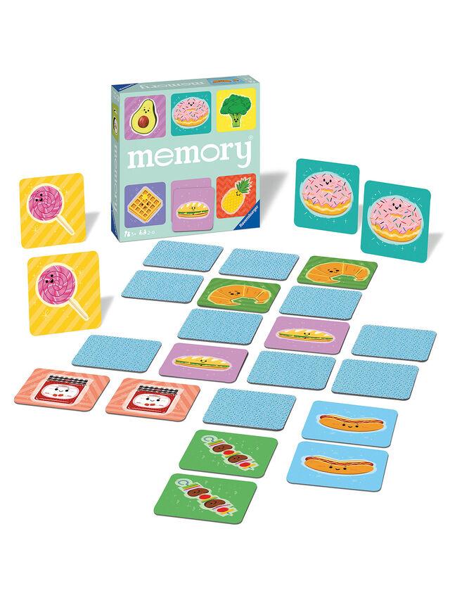 Funny Food Large Memory Game