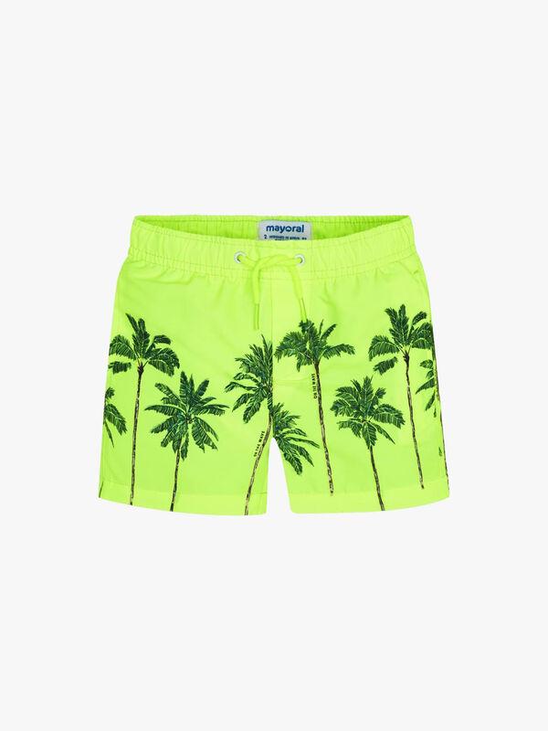 Print Palms Swimshorts