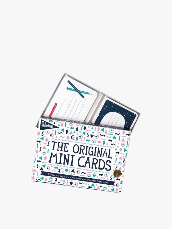 Mini Milestone Cards