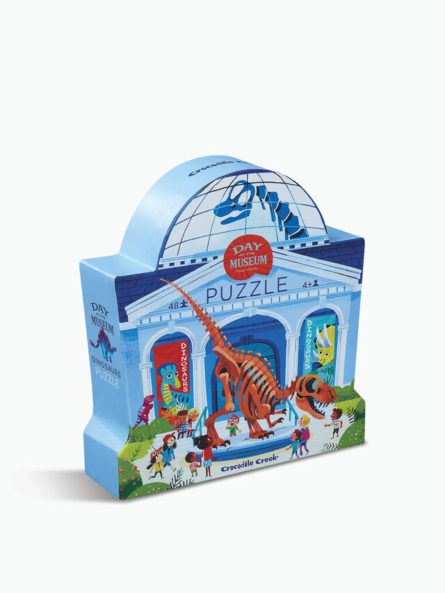 Day At The Dinosaur Museum Puzzle