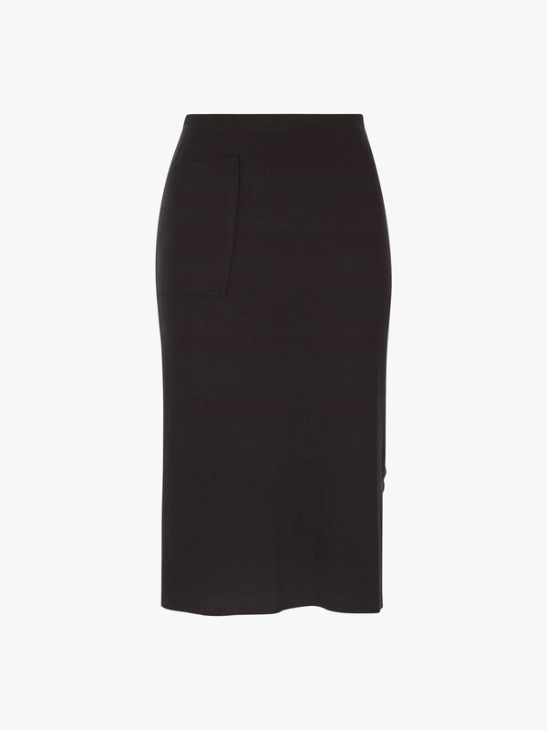 HW Jersey Pencil Pocket Skirt