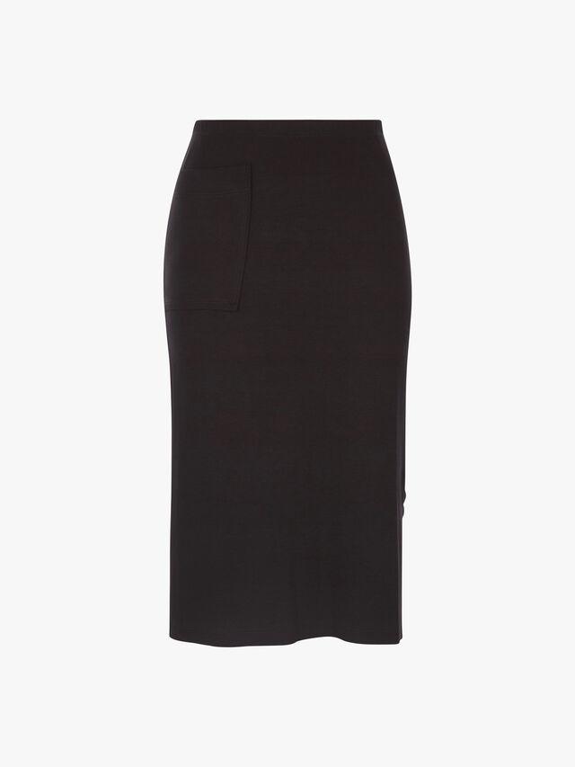 HW Jersey Pencil Pocket Skirt