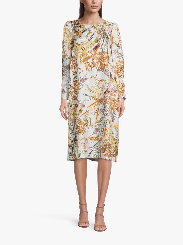 Albi Printed Midi Dress
