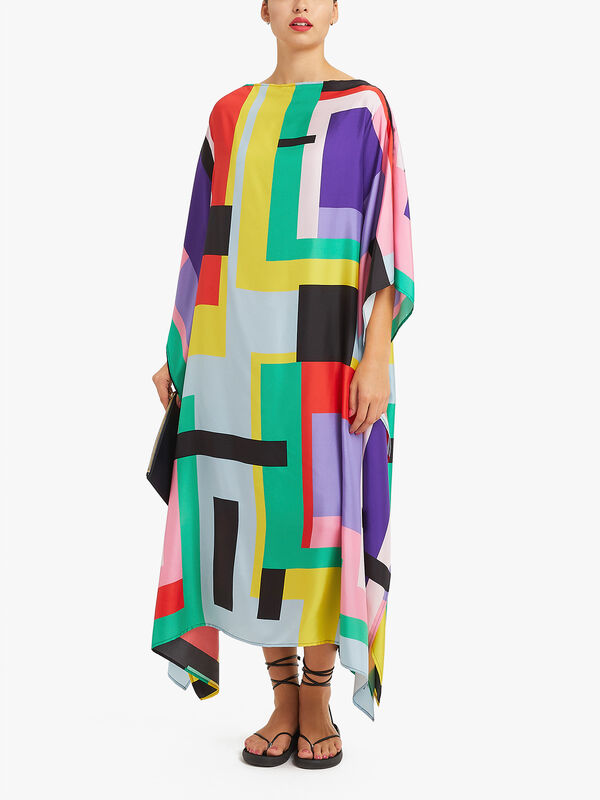 Heron Long Scarf Dress