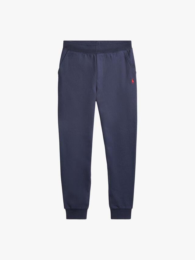 Cotton-Blend Drawstring Pants