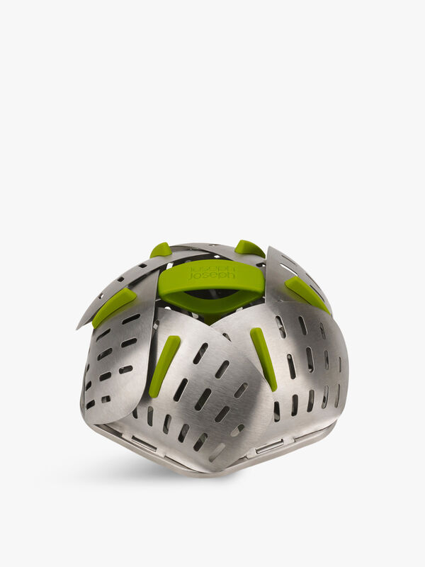 Bloom Steel Folding Steamer Basket