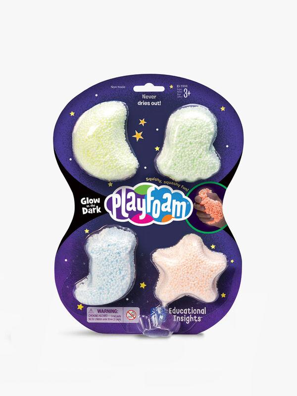 Glow In The Dark Playfoam 4-Pack
