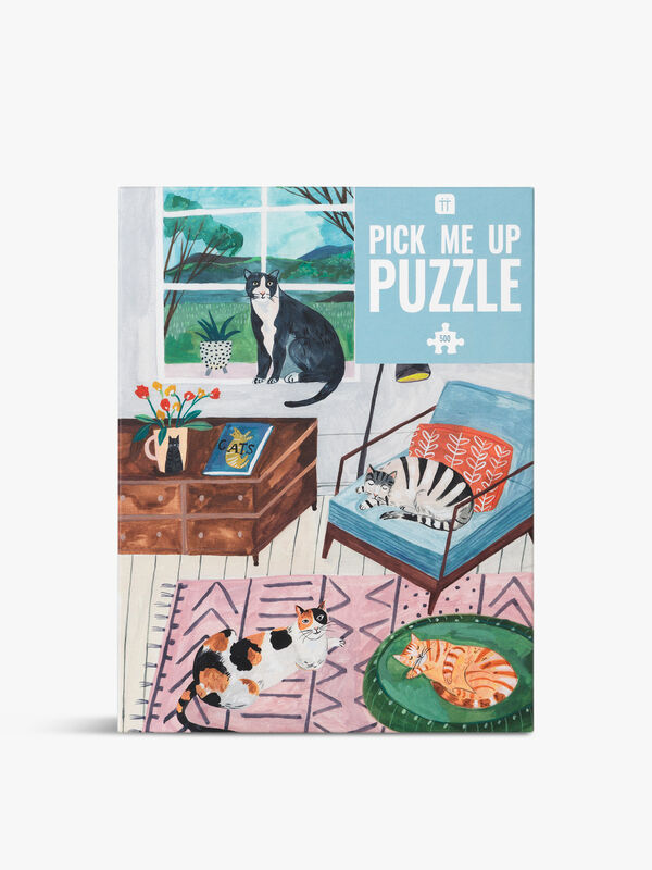 Pick Me Up Puzzle Cat