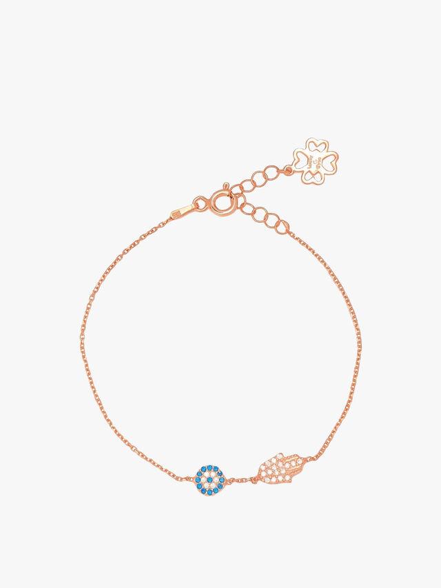Hand & Eye Bracelet