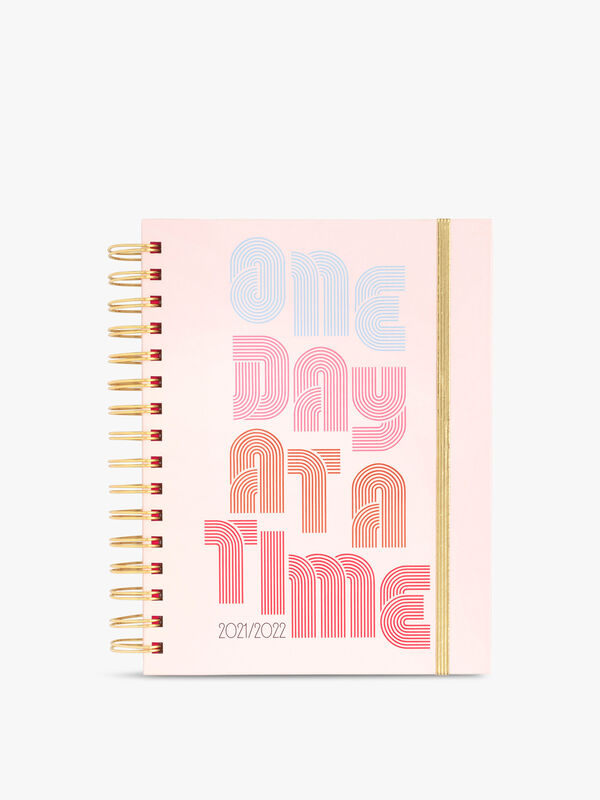 17 month One Day At A Time Medium Spiral Diary
