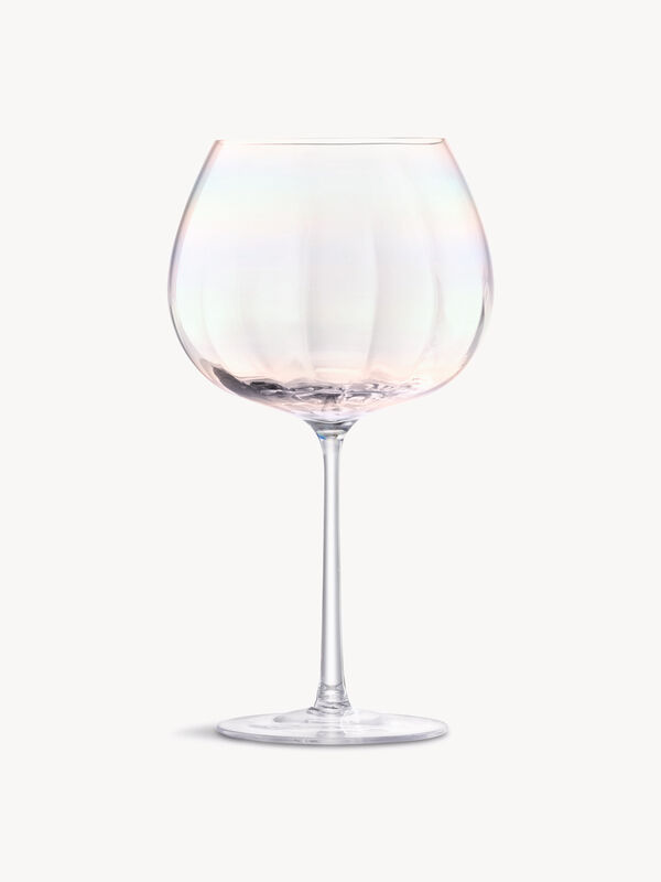 Pearl Balloon Goblet Set of 2