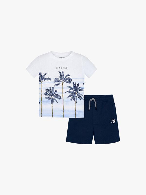 Palm Tree T-Shirt Set