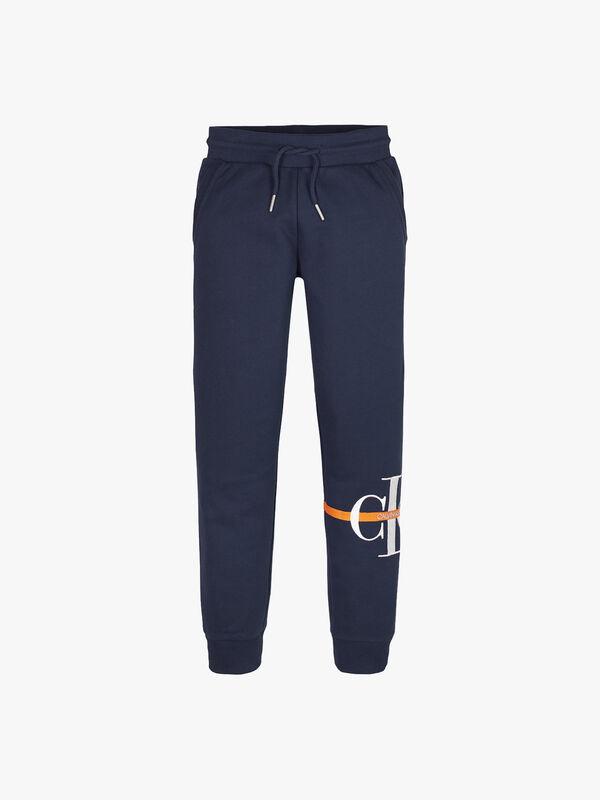 Monogram Stripe Sweatpants