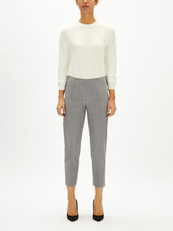 Audrey Tropical Wool Trouser