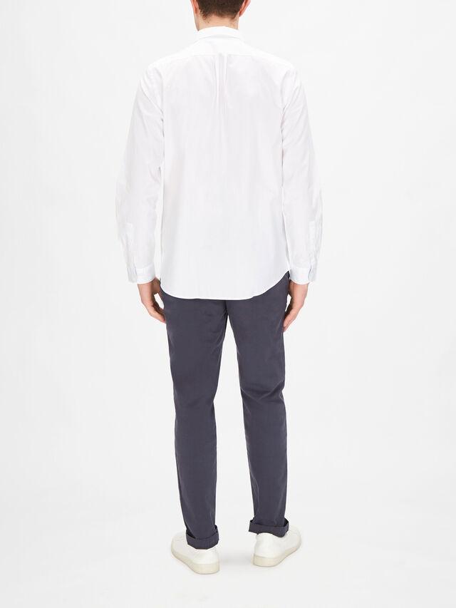 Longsleeve Embroidery Zebra Shirt