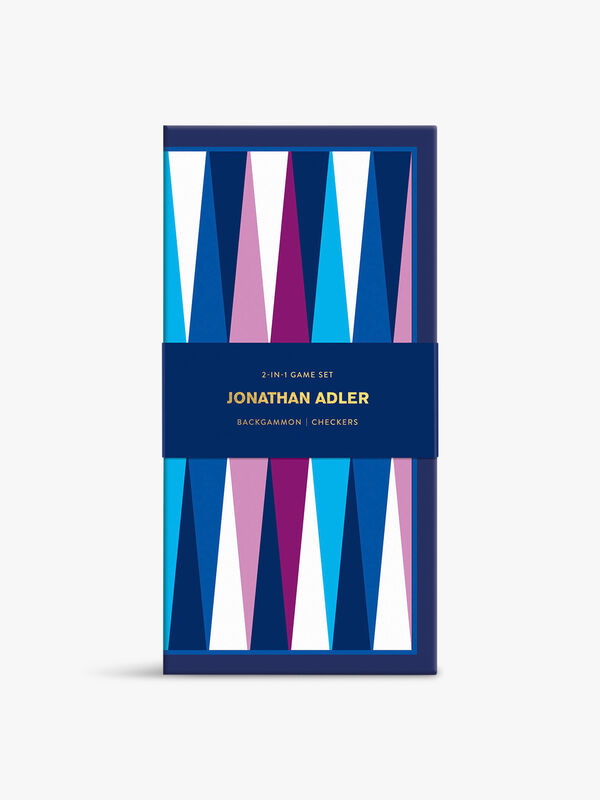 Jonathan Adler 2-In-1 Travel Game Set