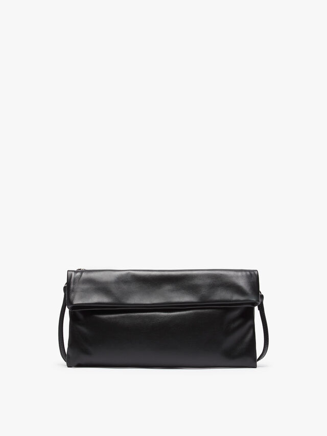 Cherry Large Flap Over Clutch