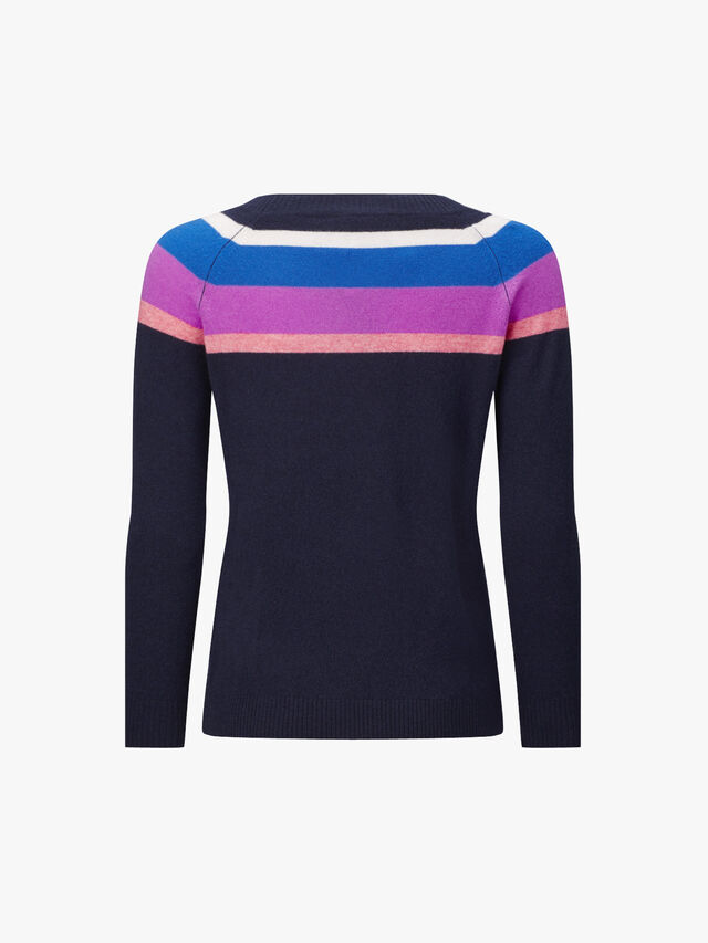 Costante Cashmere Stripe Jumper