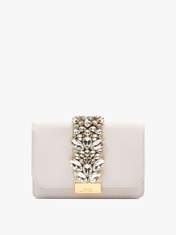 Cliky Satin Clutch