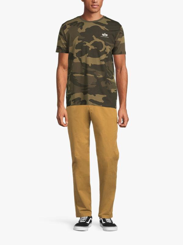 Backprint Camouflage T-shirt