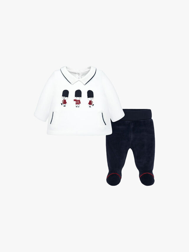 Embroidered Set