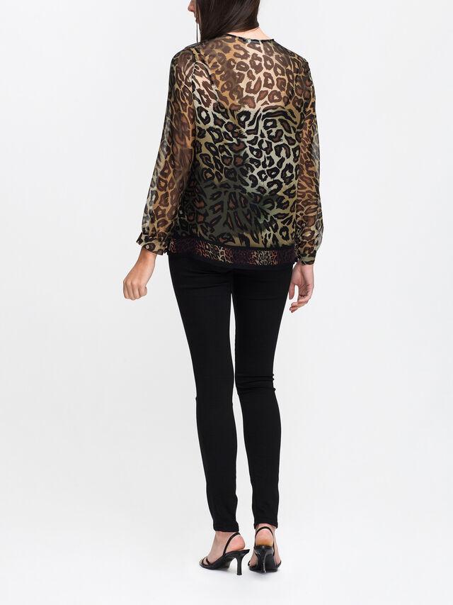 Leopard Soft Blouse