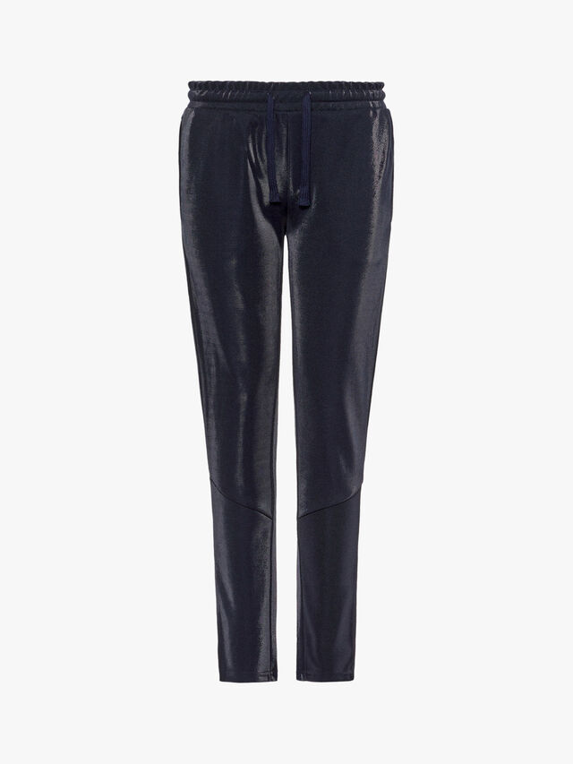 Shiny Drawcord Trousers