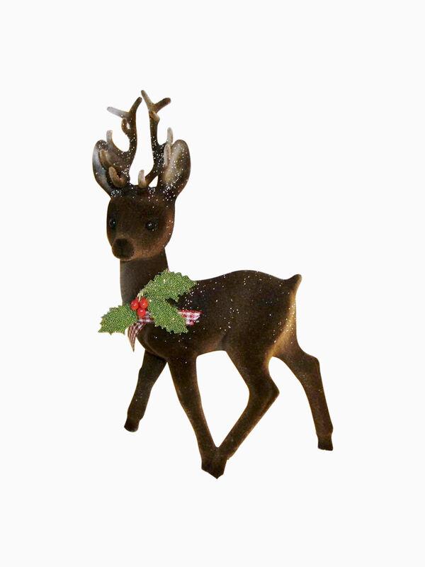 Reindeer Flock Brown Decoration