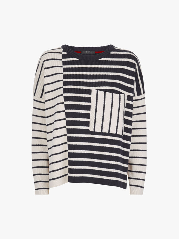 Mario Stripe Oversized Top
