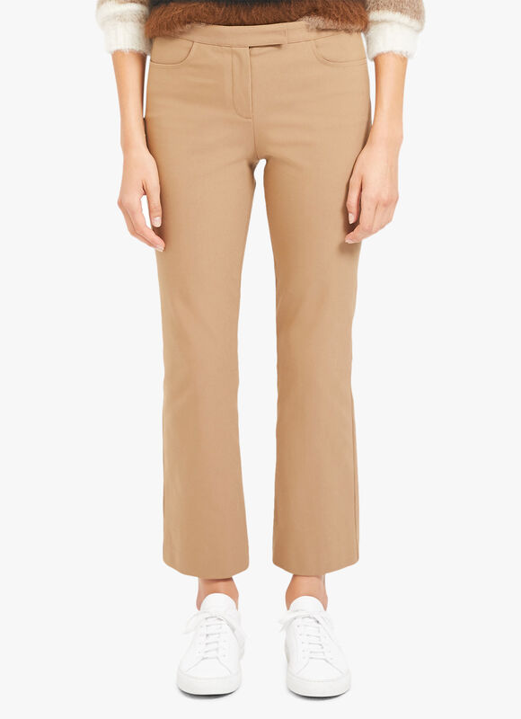 Skinny Crop Kick Trousers