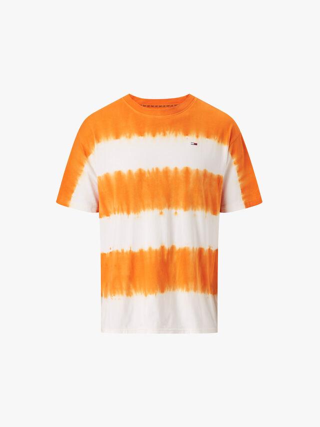 Organic Cotton Tie Dye Stripe T-Shirt