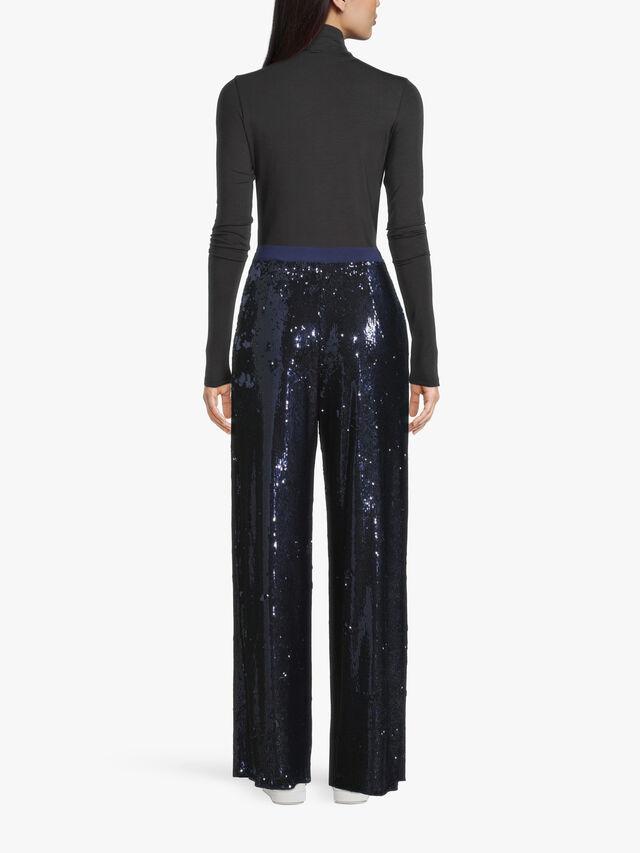 Soft Fit Sequin Trouser