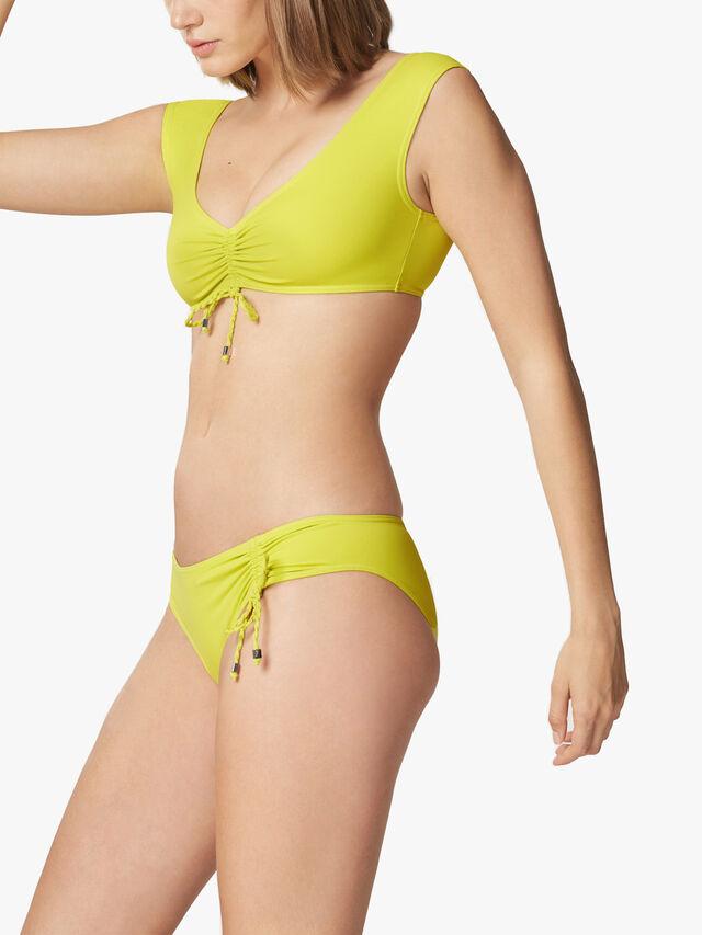 Drape Bikini Top