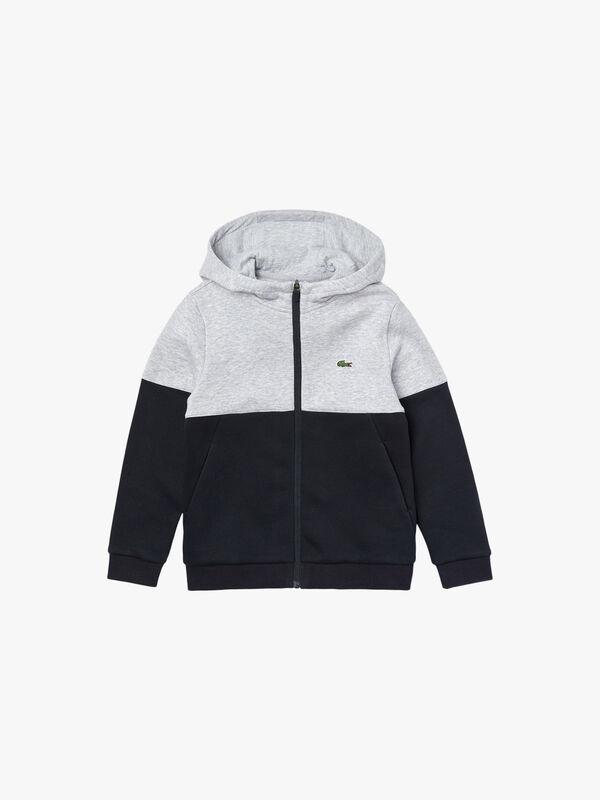 Colourblock Fleece Zip Jacket