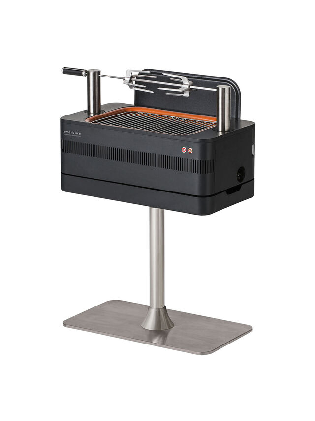 Fusion Charcoal Electric Ignition Barbeque with Pedestal
