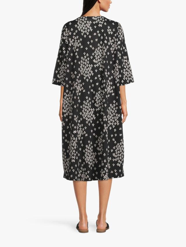 Neila Ditsy Print Midi Dress