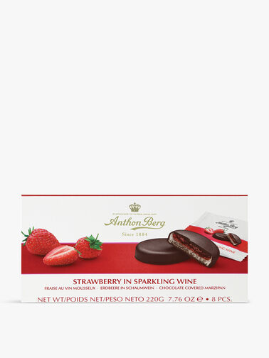 Strawberry and Sparkling Wine Marzipan 200g