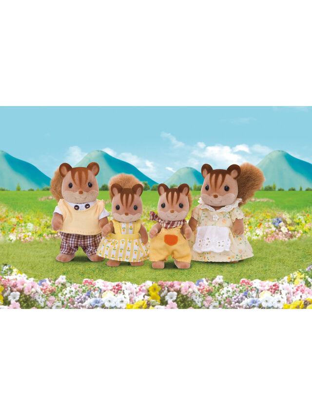 Walnut Squirrel Family
