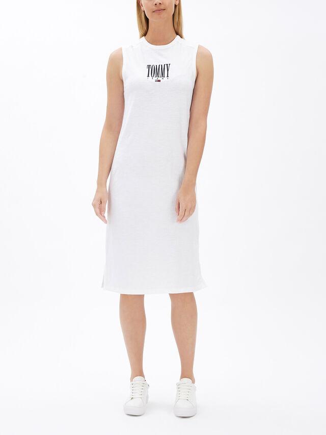 Embroidery Tank Dress