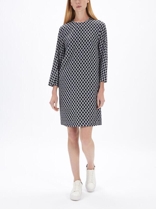 Sila Printed Shift Dress