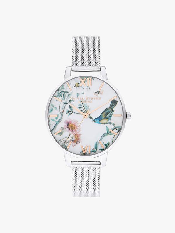 Painterly Prints Mesh Watch