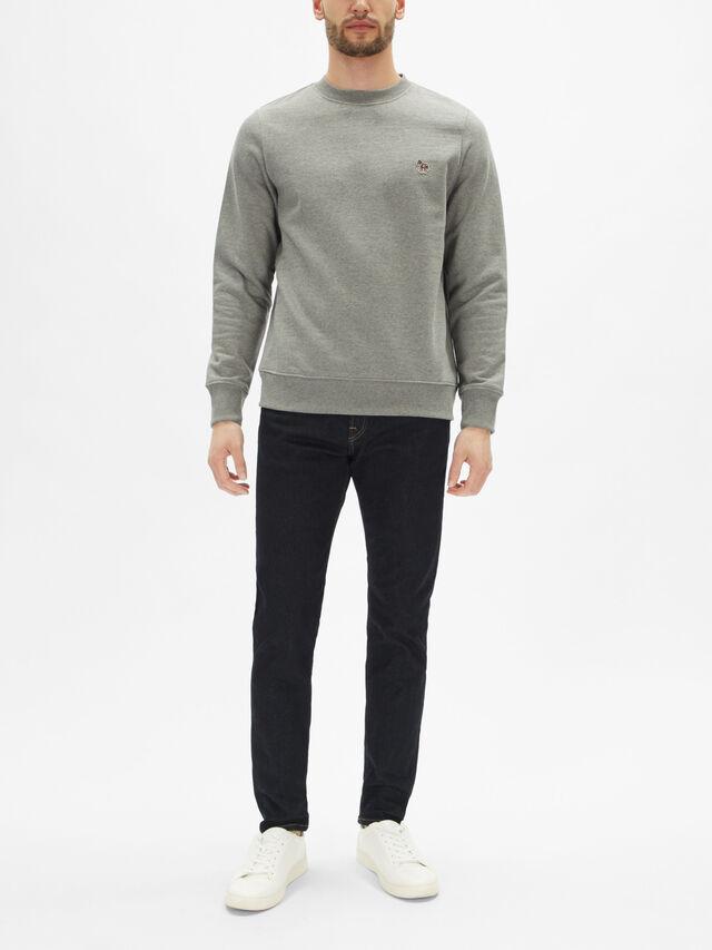 Regular Fit Zebra Sweatshirt