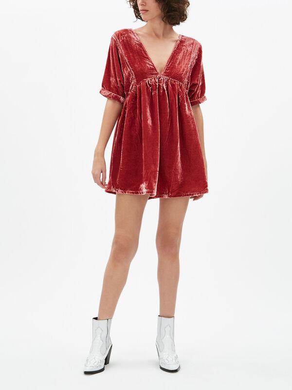 Ivy Velvet Dress