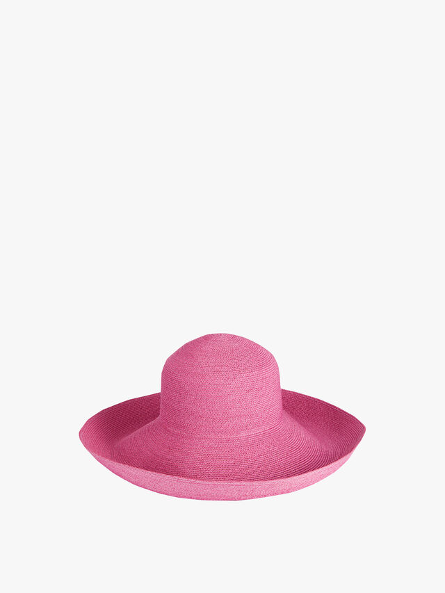 Tiffany Brim Cloche Sun Hat