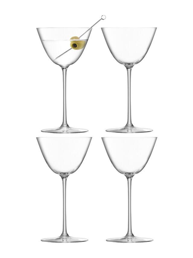 Borough Martini Glass Set of 4