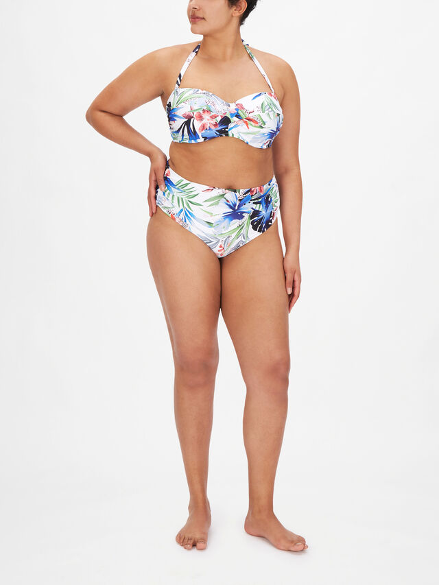 Santa Catalina Twist Bandeau Bikini Top