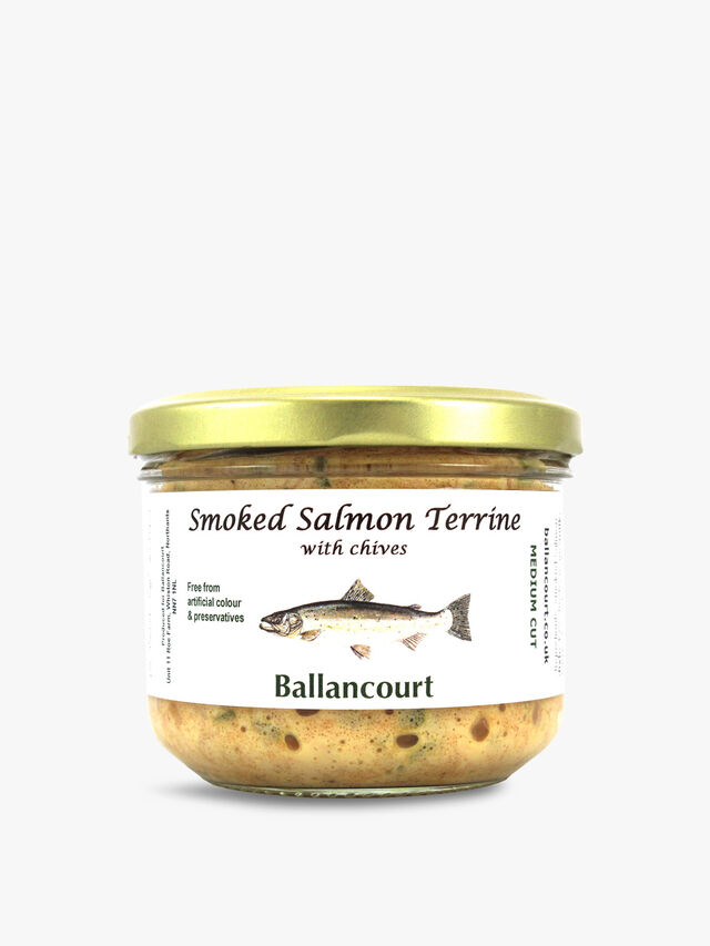Smoked Salmon Terrine with Chives 200g
