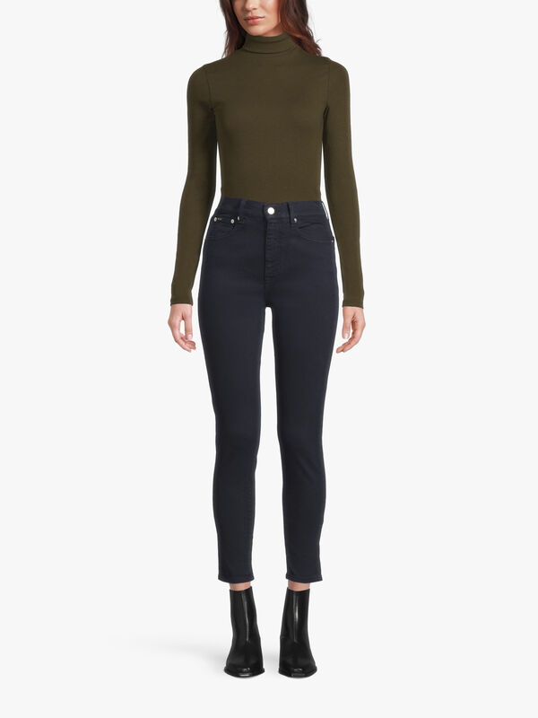 High Rise Skinny Ankle Jean