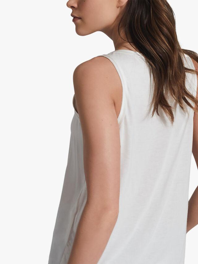 RILEY Silk Front Vest